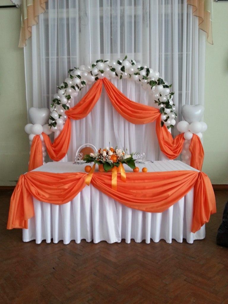 Декорирование свадебного зала своими руками 83